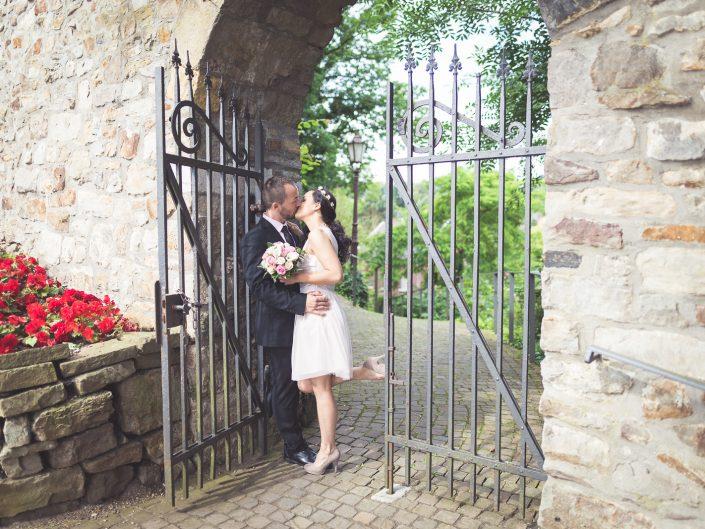 Standesamtliche Trauung in der beeindruckenden Burg Rode