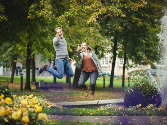 Paarshooting im wundervollen Stadtgarten von Aachen